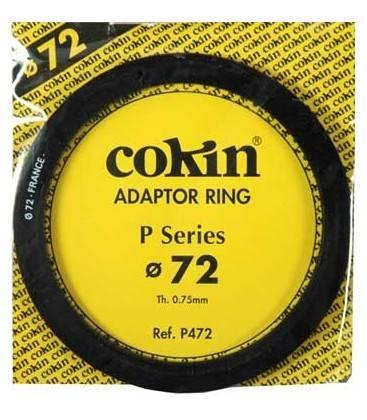 ADATTATORE AD ANELLO IN COKIN P SERIE 72 MM.