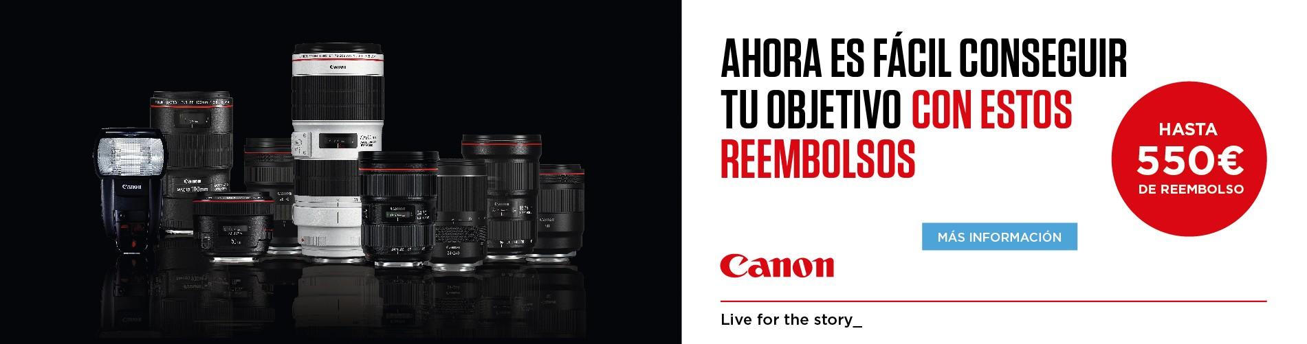 CANON PROMO LENTES